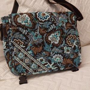 Java Blue Vera Bradley messenger bag